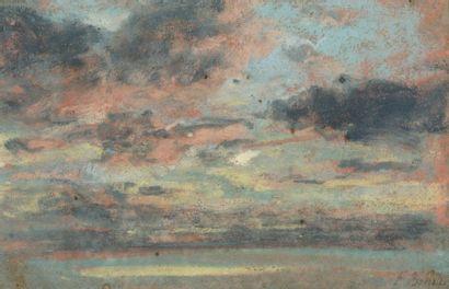 Attribué à Eugène Louis BOUDIN ( 1824 - 1898)...