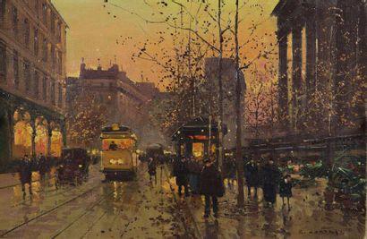 Edouard CORTES (Lagny sur Marne 1882 - 1969)...