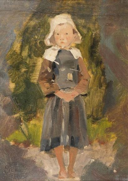 Jules CHERET (Paris 1836 - Nice 1932)  Petite...