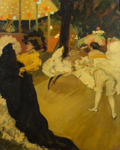 Tony MINARTZ (Cannes 1873 - 1944)  Le French-Cancan...