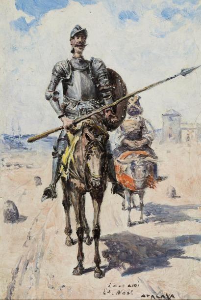Enrique ATALAYA (Murcie 1851- Paris 1914)...