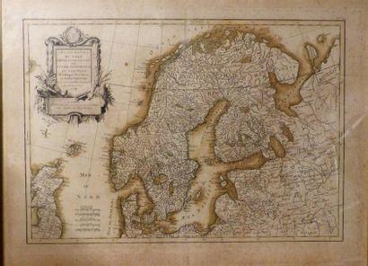 *JANVIER  Les Couronnes du Nord,  Vers 1762...