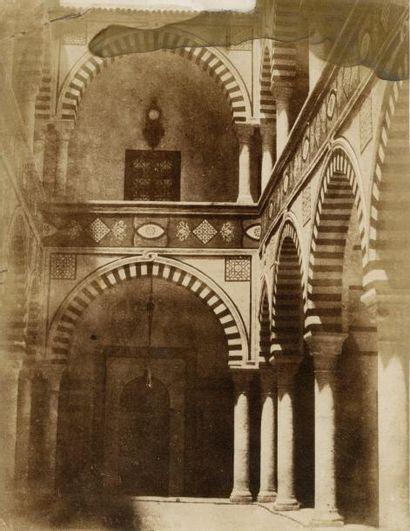 Pierre TREMAUX (1818-1895)  Vues de Tunisie,...