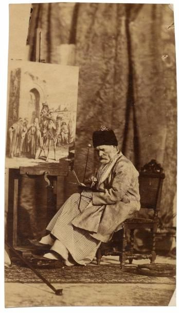 Henry SAUVAIRE (1831-1896) (attr.)  Syrie,...
