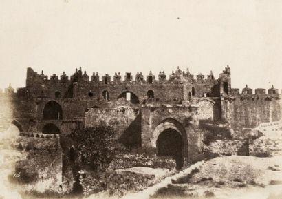 Auguste SALZMANN (1824-1872)  Vues de Jérusalem,...