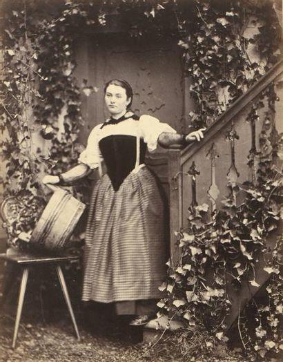Adolphe BRAUN (1811-1877)  Costume de Suisse,...