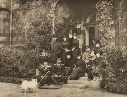Photographies du Comte Nostitz, 1896  Czesarévitch...
