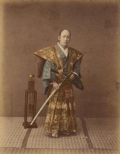 Kusakabe KIMBEI (1841-1934)  Japon  Types...