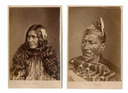 Elizabeth PULMAN (1836-1900) et autres  Nouvelle-Zélande,...