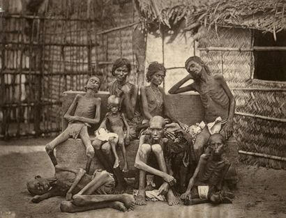Willoughby Wallace HOOPER (1837-1912)  Famine...