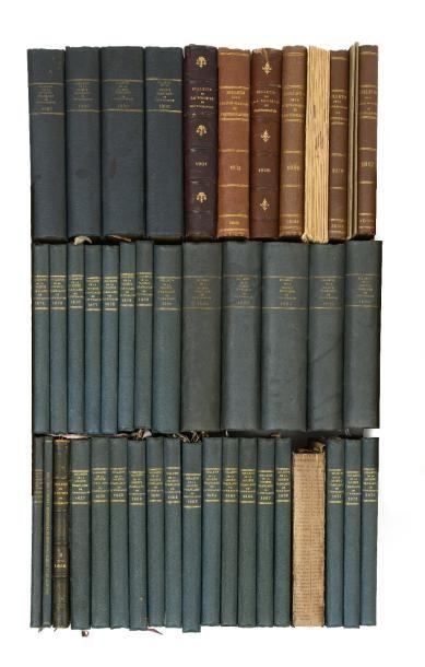 """""""Bulletin de la Société Française de Photographie""""  1856-1912""""  42 publications..."""