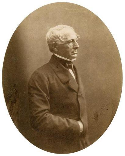 NADAR (Gaspard Félix Tournachon, dit) (1820-1910) Portrait d'Alfred-Auguste Cuvillier-Fleury,...