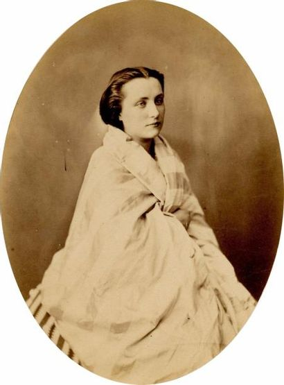 P. GAILLARD Portraits : femmes, enfants, hommes, autoportraits, c. 1855  33 tirages...