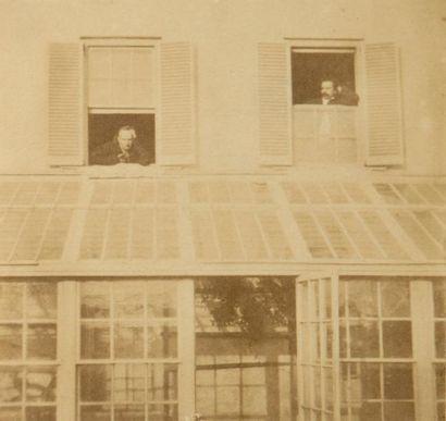 Victor Hugo  Portrait de Victor Hugo à sa...