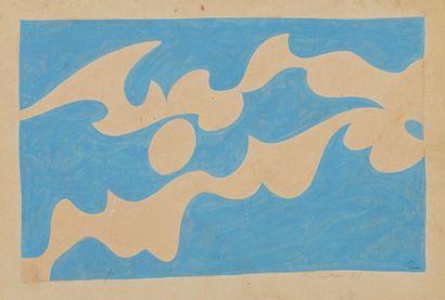 René RICHETIN (1923-2008)  Compositions  Important ensemble d'environs 40 'œuvres...