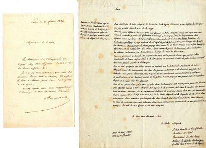 LAS CASES (Emmanuel marquis de, puis comte...