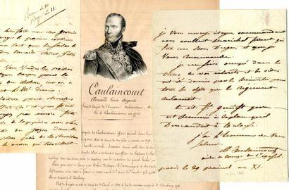 CAULAINCOURT (Général Armand Augustin Louis,...