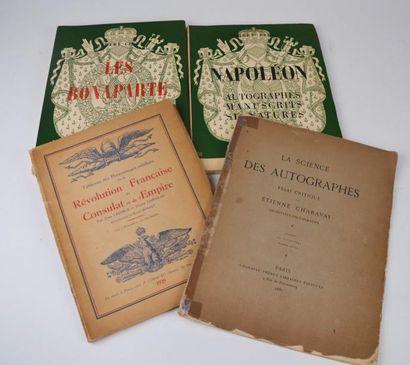 CIANA (Albert). Napoléon. Autographes, manuscrits,...