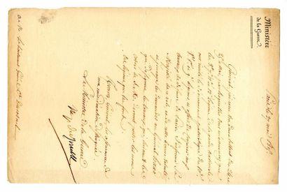 DAVOUT (Louis Nicolas Davout, Maréchal, duc...