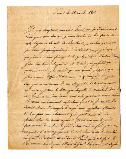 ATTHALIN (Général, baron, Louis Marie, Baptiste,...