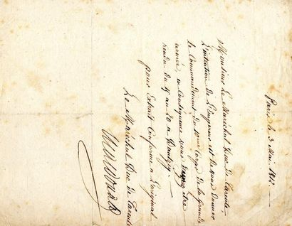 MAC DONALD (Etienne, Maréchal, Duc de Tarente,...