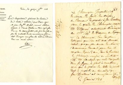 [Médecine]. DESGENETTES (Baron René-Nicolas...