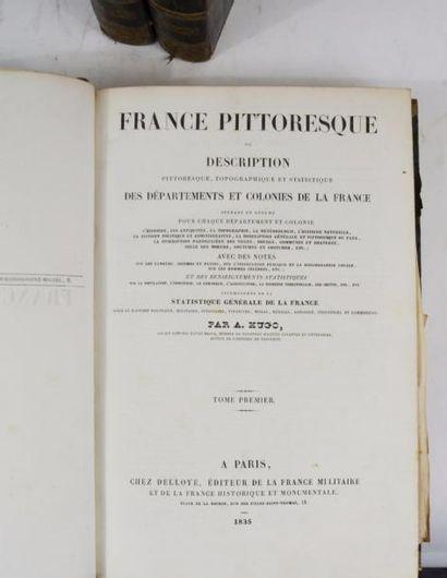 HUGO (Abel). France pittoresque ou description pittoresque, topographique et statistique...