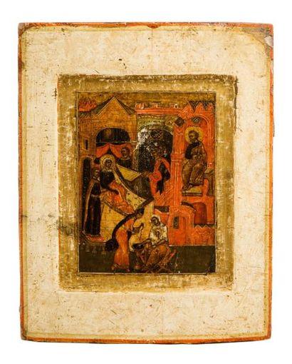 Nativité de la Vierge Russie XVIII siècle...