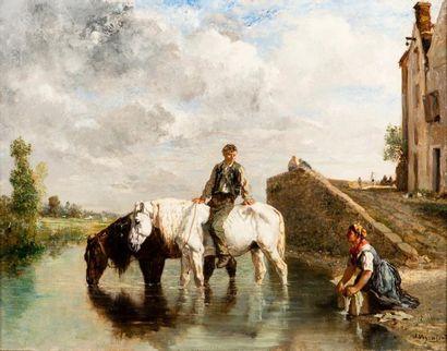 Jules VEYRASSAT (Paris 1828 – 1893)