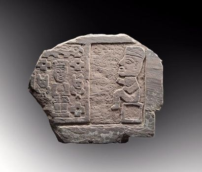 Bas relief d'un seigneur Huari  Bas-relief...