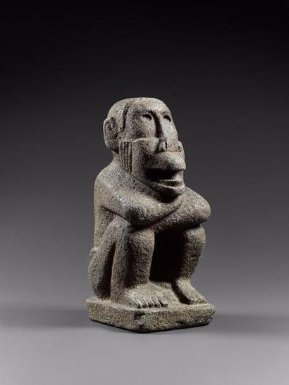 Ehecatl Dieu du Vent Aztèque  Idole anthropozoomorphe...