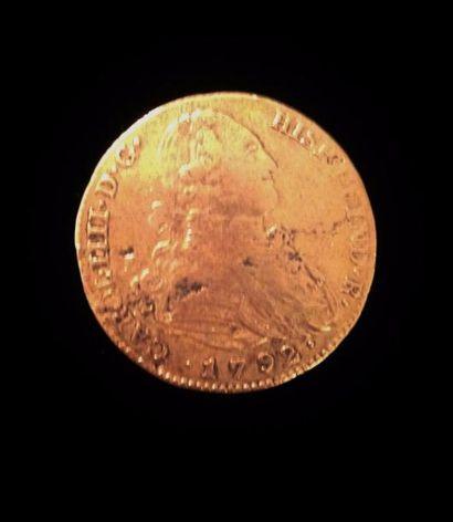 Une pièce en or  Carol 1792