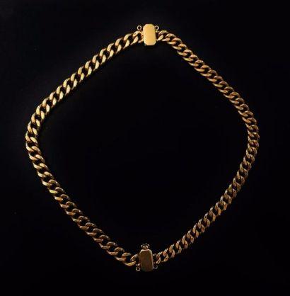 Chaîne en or jaune 18 K (750 °/°°) composée...