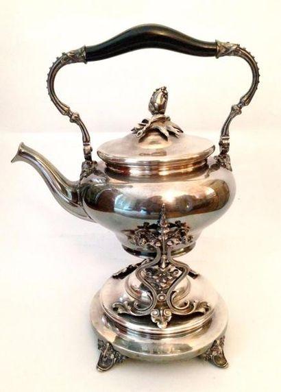 CHRISTOFLE  Samovar en métal argenté de style...