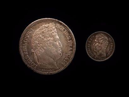 LOUIS PHILIPPE (1830 - 1848)  Deux francs...