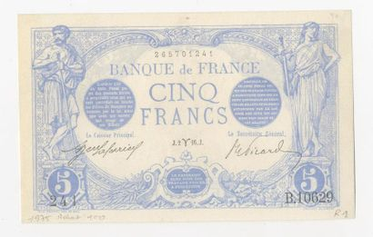 5 F Bleu. F 2/37 du 2.3.1916.  Quasi splendide,...