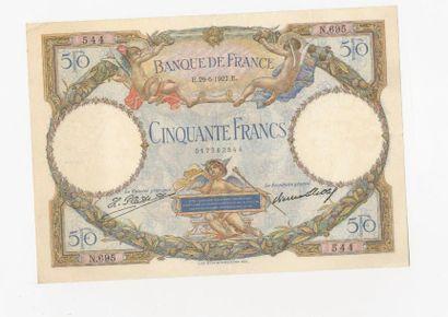 50 F Luc Olivier Merson du 29.6.1927. F 15/1....