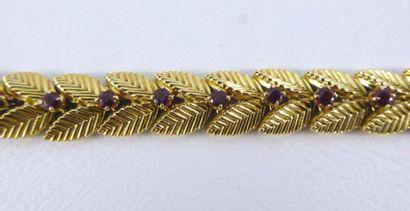 Bracelet VAN CLEEF & ARPELS en or jaune 18k...