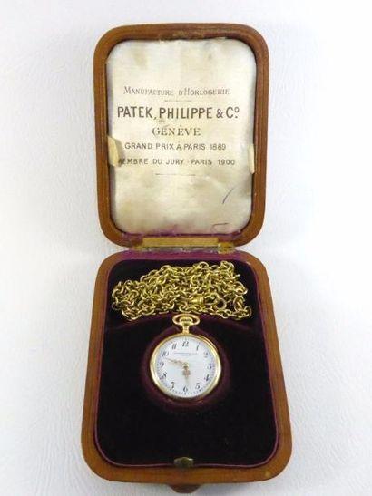 Montre gousset de dame PATEK PHILIPPE & Cie...