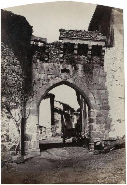 Félix THIOLLIER (1842-1914)  Porte, l'Hôpital...