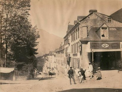 Jean-Jacques HEILMANN (1822-1859)  Carrefour...