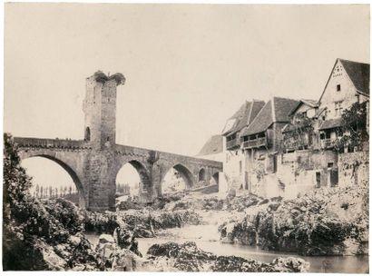 Jean-Jacques HEILMANN (1822-1859)  Le Pont...