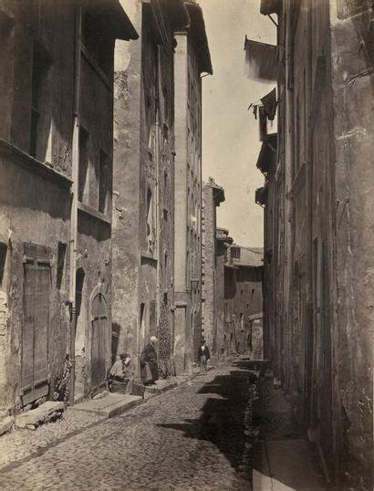 Adolphe TERRIS (1820-1900)  Rue des Isnards,...