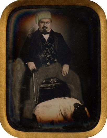 Auteur non-identifié  Portrait d'un homme...