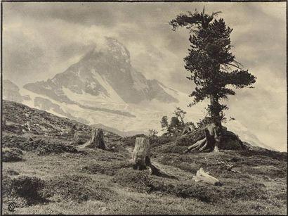 Antoine MAZEL (act.c.1880-c.1940)  Montagne...