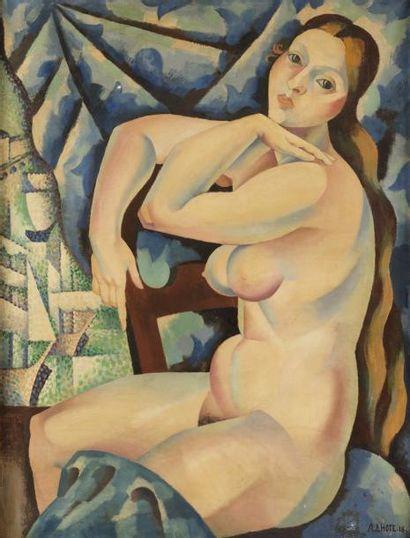 André LHOTE Nu assis, 1918 22 novembre 2017 J- André LHOTE (Bordeaux 1885- Paris...