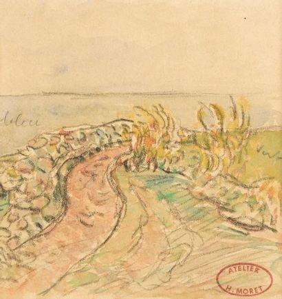 Henry MORET (Cherbourg 1856 - Paris 1913)...