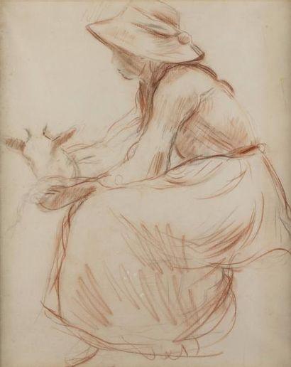 Berthe MORISOT (Bourges 1841- Paris 1895)...