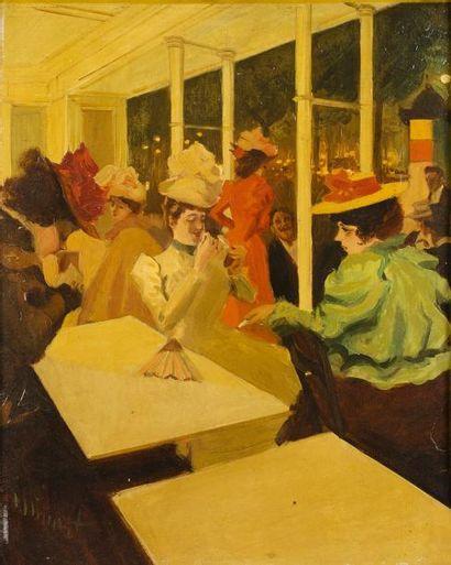 Tony MINARTZ (Cannes 1873 - 1944)  Les élégantes...