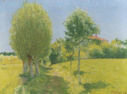 Achille LAUGE (Arzens 1861 - Cailhau 1944)...